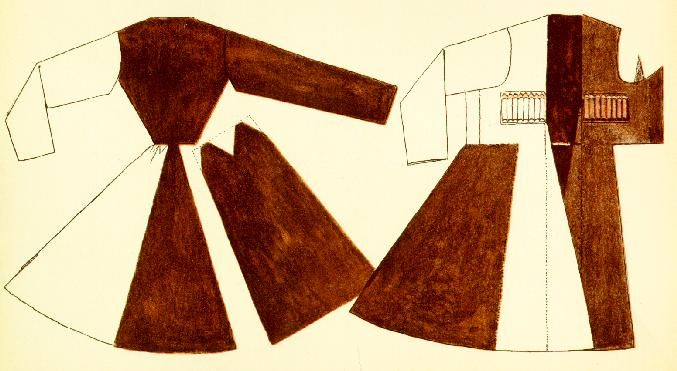 Man's coat from the caucaus (Tilke)