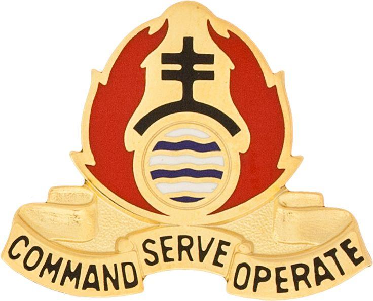 479th Chemical Bn Unit Crest (Command Serve Operate)