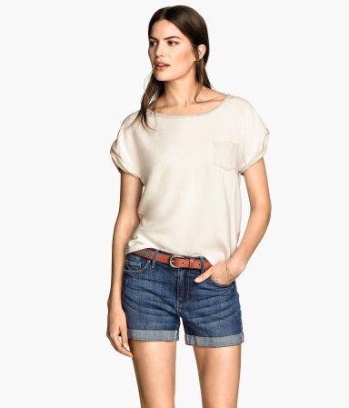 H&M Short-sleeved top  €14,99