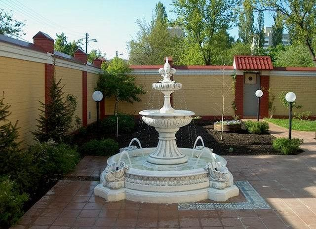 Front Yard Landscape Ideas Pictures Backyard Fountains