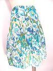Tommy Hilfiger Skirt Sz L Full Floral Knee Length Modest Womens Casual Career on eBay for $9.99