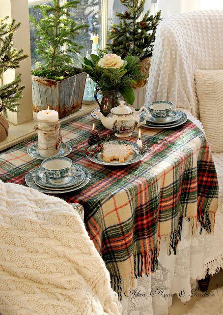 Tartan Christmas Aiken House & Gardens: Tea Time                                                                                                                                                      More