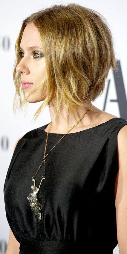 Scarlett Johansson H Girlz Pinterest Minimal Makeup Short