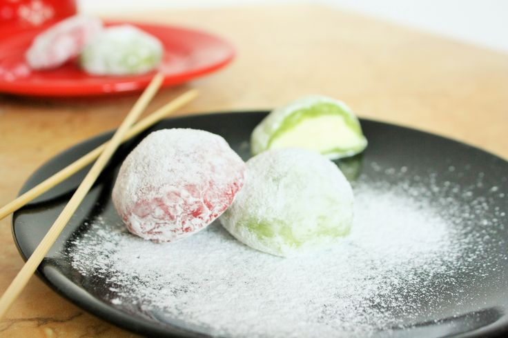 Japanese Delight: Daifuku Mochi - rice delicious cookies!
