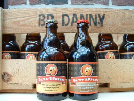Blond & Donker Kwibus - Brouwerij Danny – Erpe-Mere