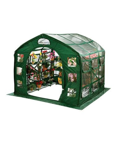 Take a look at this Clear Farmhouse Greenhouse by FlowerHouse on #zulily today!