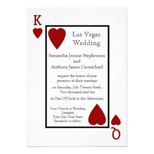17 best images about las vegas wedding invitations on for Las vegas elvis wedding invitations