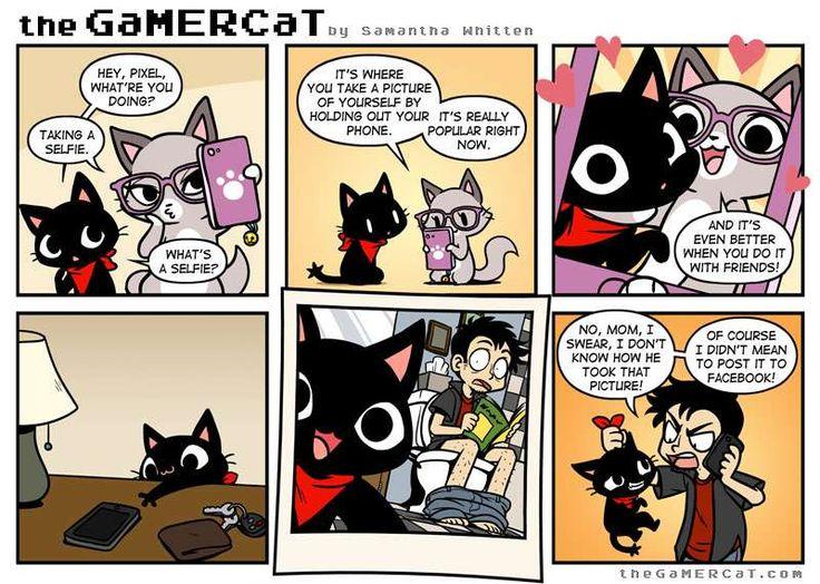 the GaMERCaT :: Privy-see | Tapastic Comics - image 1