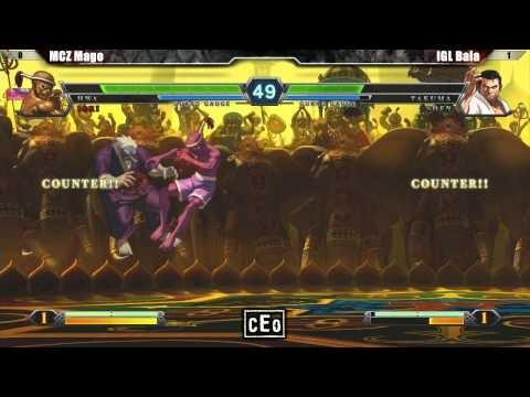CEO 2012 Tournament King of Fighters XIII Winners Finals - IGL Bala vs MCZ Mago #KOFXIII