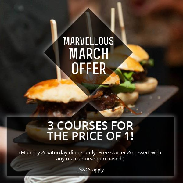 Marvellous March Offer