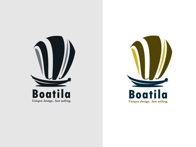 """Logo FOR SALE!!!  The logo is a sailing vessel, the sails of the boat are made from the letter """"W"""". The logo fits for: boat business, fishing, travel agency, sailing etc.  www.thracianweb.com contact@thracianweb.com"""