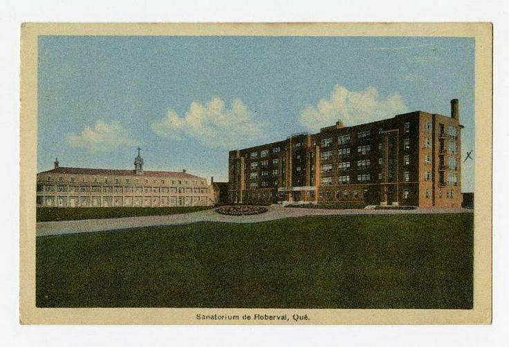 Sanatorium de Roberval, Qué.