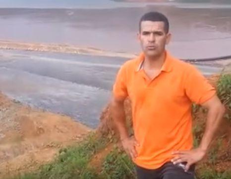 Presa De Cola Del Yagal En Alerta Roja Grabada Por Comunitario Vecino – Barrick Gold #Video