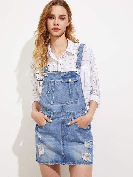 Best 25  Overall dress ideas only on Pinterest | Dungaree dress ...