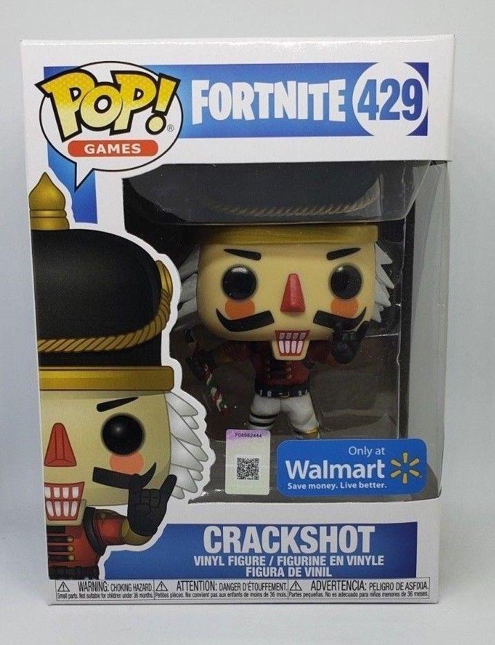 Funko Pop Fortnite Games Crackshot Walmart Exclusive 429 Vinyl