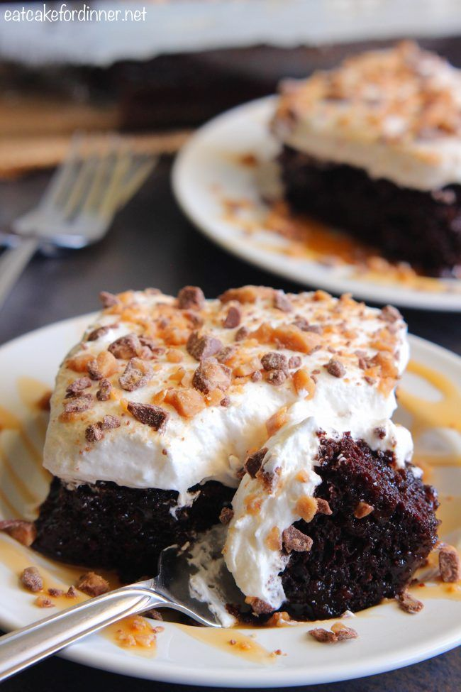 Better than Anything Zucchini Poke Cake | The Recipe Critic. change to coconut oil and reduce sugar and no cool whip.