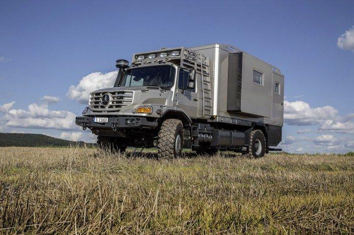 Mercedes-Benz Zetros as top-class mobile home (2)