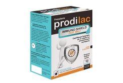 Frezyderm Prodilac Immuno Shield Fast Melt Συμπλήρωμα Διατροφής με Προβιοτικά για παιδιά & ενήλικες με γεύση ροδάκινο, 10 φακελάκια