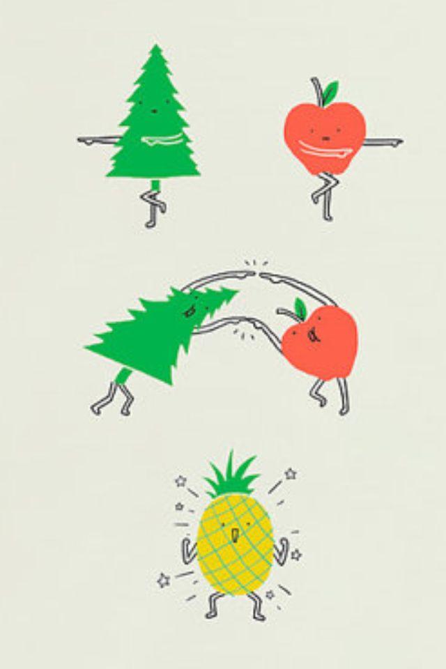 Pineapple - Art print