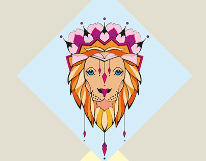 """Check out new work on my @Behance portfolio: """"Little Lion"""" http://be.net/gallery/37108919/Little-Lion"""