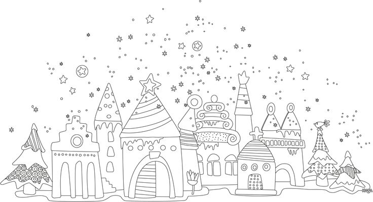 Ausmalbild Weihnachten 2012_02