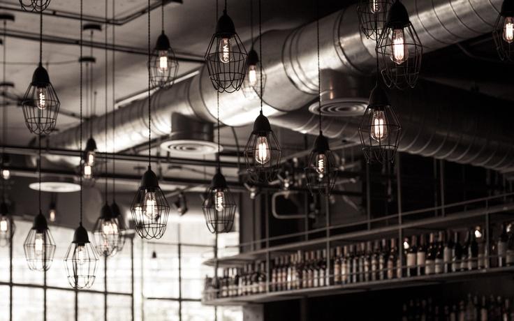 Industrial atmosphere and American food :) #Food #Design #Restaurant #Bangkok