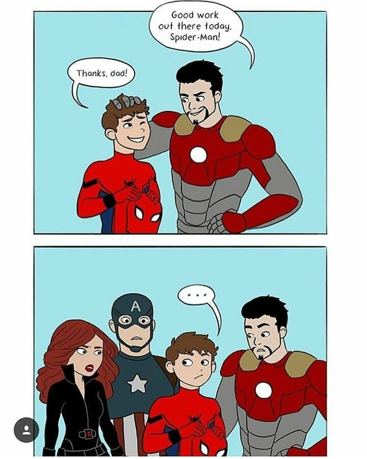 Peter Actually Sees Tony As A Father Figure Marvel