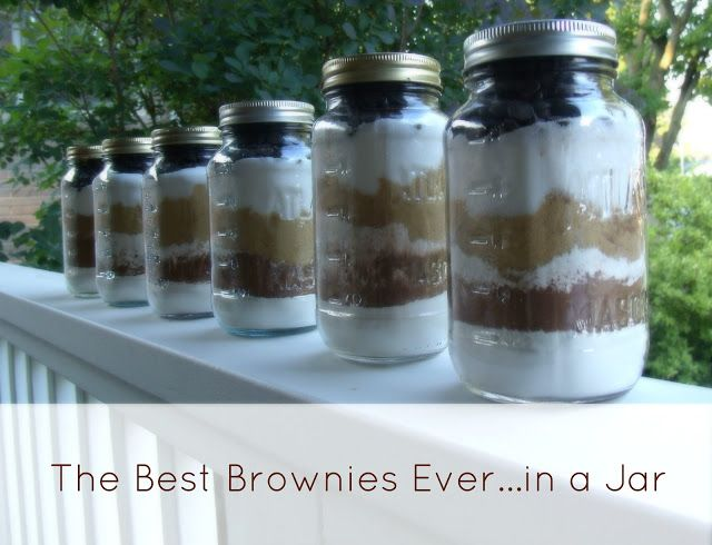 The Best Brownies Ever (...in a Jar for Giving!)
