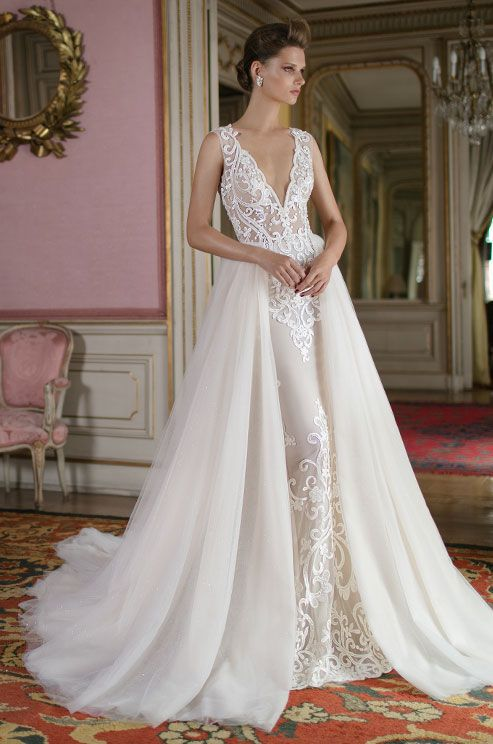 Unique More grand than ever before The new BERTA spring bridal collection is a regal