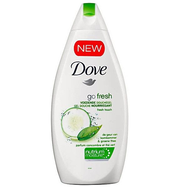 Dove Shower 500ml Go Fresh Touch 8712561611145 Bathrooms