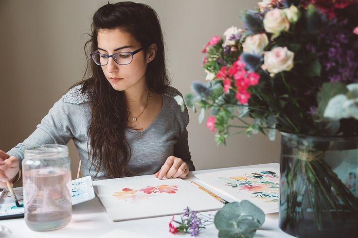 Progresser en aquarelle: mes 10 astuces. Cliquez pour découvrir l'article ou enregistrez l'image pour plus tard!
