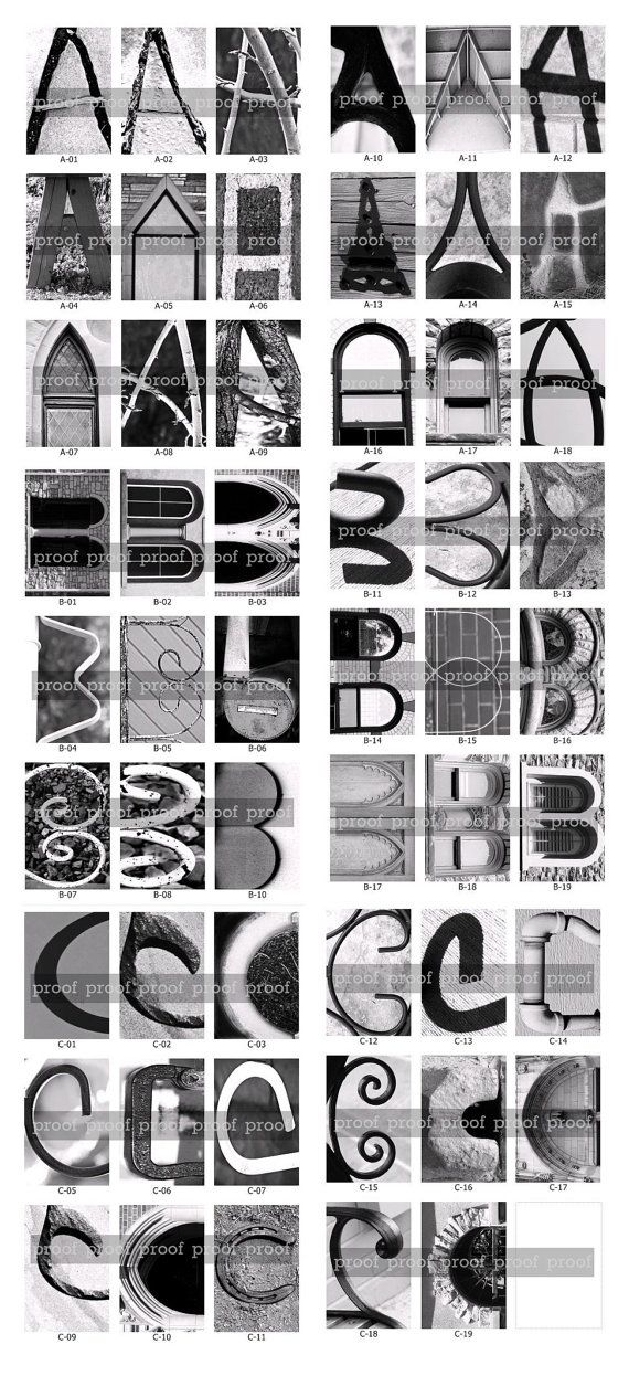 67 best images about alphabet photography on pinterest for Architectural letter photos