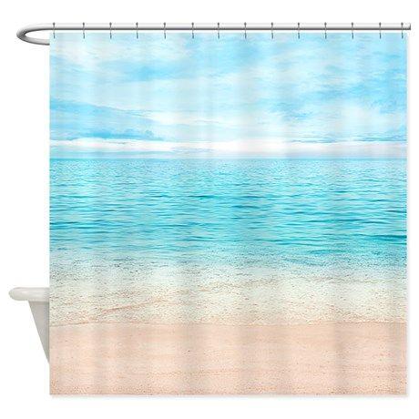 1000 Ideas About Beach Shower Curtains On Pinterest Beach Shower Beach Decorations And Sea