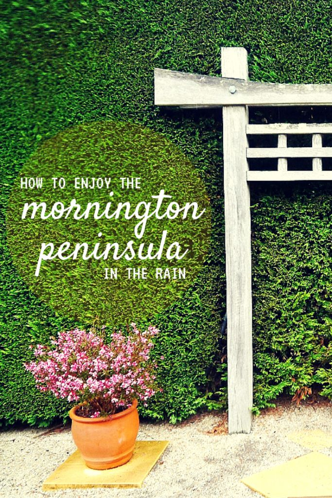 How to enjoy Mornington Peninsula in the rain