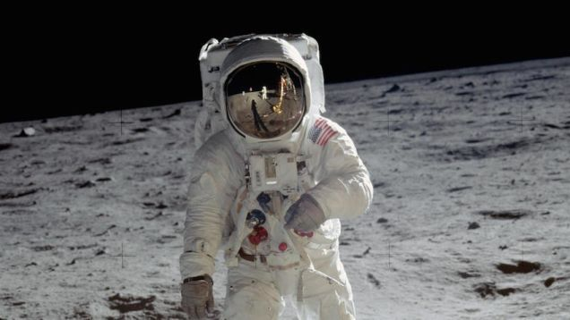 The internet was all abuzz today over newly-declassified tape of Apollo 10 astronauts catching a broadcast of alien music on the Moon. Except the tape was not classified, not alien, and not music. Settle in and take a listen for yourself.