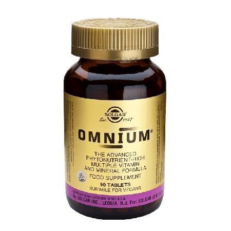 Solgar Omnium 90 Tablets 001418 Advanced phytonutrient-rich multivitamin and mineral formula http://www.MightGet.com/january-2017-11/solgar-omnium-90-tablets-001418.asp