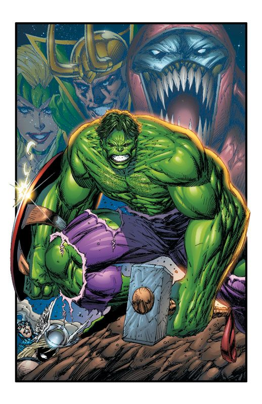 #Hulk #Fan #Art. (ONSLAUGHT REBORN #5 Cover) By: Rob Liefeld. (THE * 5 * STÅR * ÅWARD * OF: * AW YEAH, IT'S MAJOR ÅWESOMENESS!!!™)[THANK Ü 4 PINNING!!!<·><]<©>ÅÅÅ+(NO RED MARVEL BANNER)