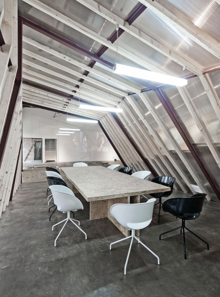 AU Office and Exhibition Space by Archi Union Architects.