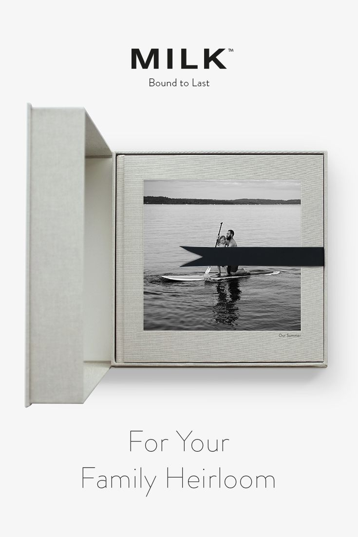 For a happiness bound to last! Our MILK Archival Photo Books and Albums, handbound in archival-quality materials and printed with a 6 color print process, can capture these moments perfectly.