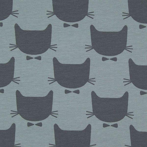Jersey Kater - grau - Weitere Jerseystoffebevorzugter Kauf in unserem Shop