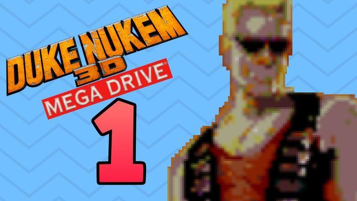 Duke Nukem 3D (Mega Drive) - Part 1   Entering Spaceport