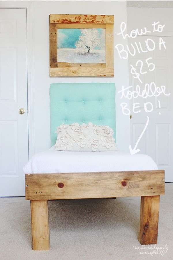 Best 25 Pallet Toddler Bed Ideas On Pinterest
