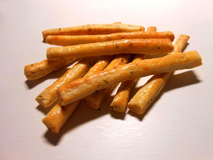sugarfree dots: sajtos rúd - kicsit másképp (fűszeres) teljes kiőrlésű lisztből