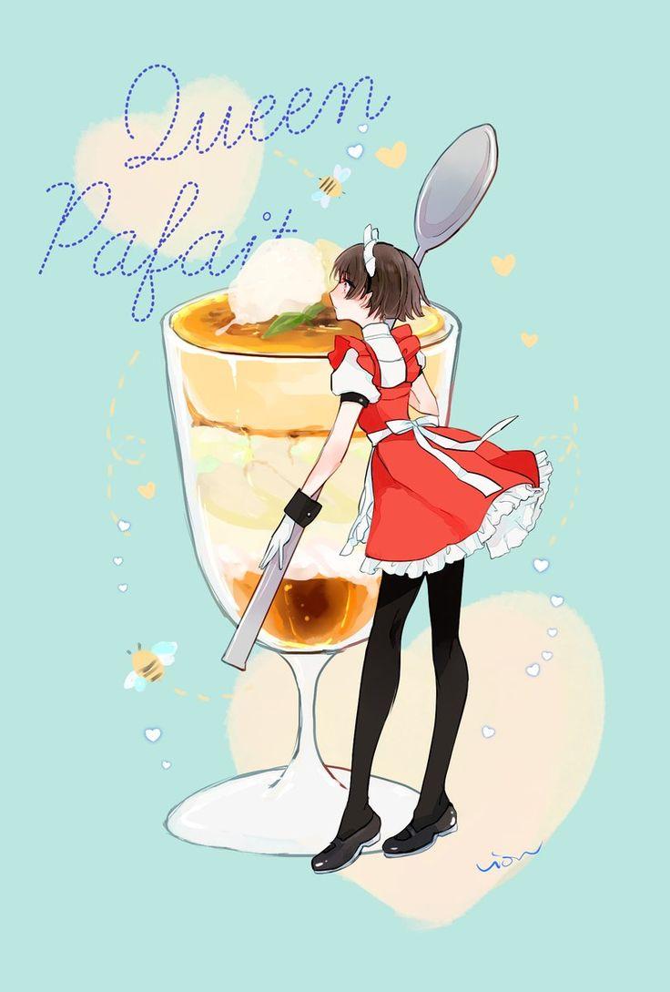 Parfait ♥ Makoto | Persona 5 by @vio_mas on Twitter