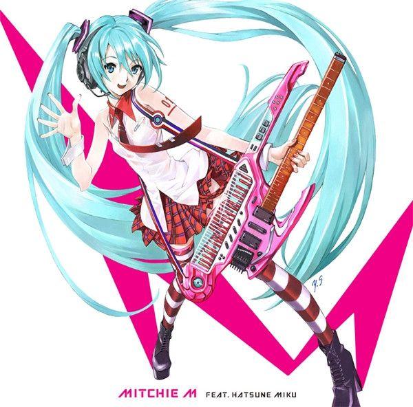 """Evangelion"" Character Designer Yoshiyuki Sadamoto Draws Hatsune Miku CD Cover"