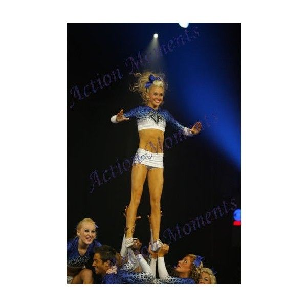 Cheer Athletics ❤ liked on Polyvore featuring cheerleading, cheer and people