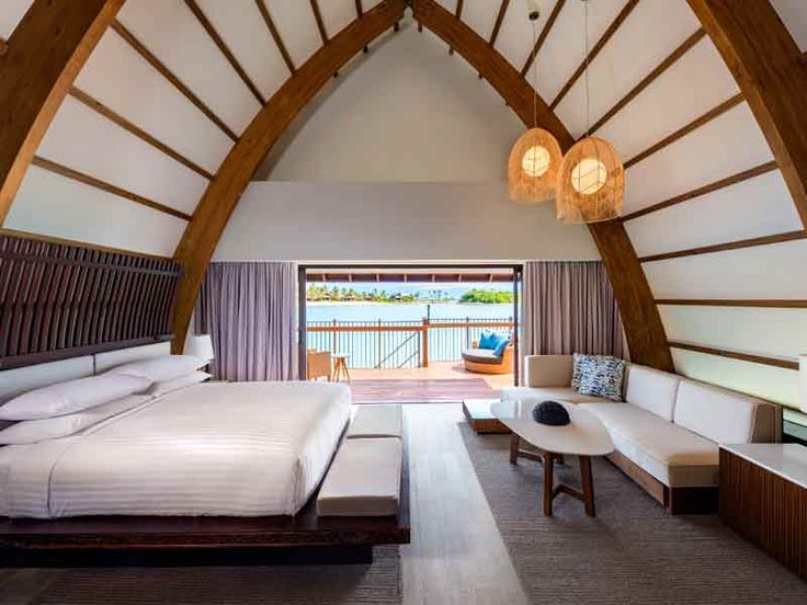 Rooms at Marriott Momi Bay are super spacious !
