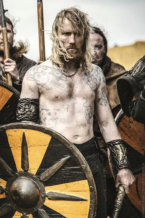 No, tattoos are not a modern fad, they exist as long as humanity does. And historical TV shows have started to illustrate it. Here on Vikings.