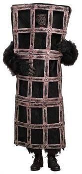 PartyBell.com - Gorilla Ape In Cage Costume Adult