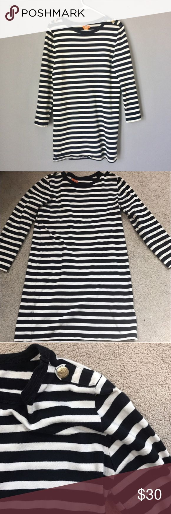 SUBMIT ANY OFFER! Joe Fresh Blue Striped Dress Great Condition! Shows little to no wear Joe Fresh Dresses